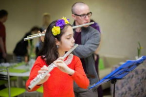 Анна знакома не только с флейтой, но и с азами предпринимательства
