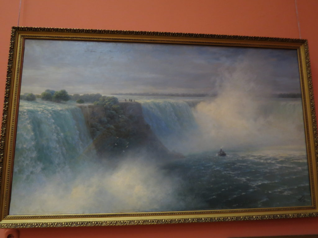 """Ниагарский водопад"", 1892."
