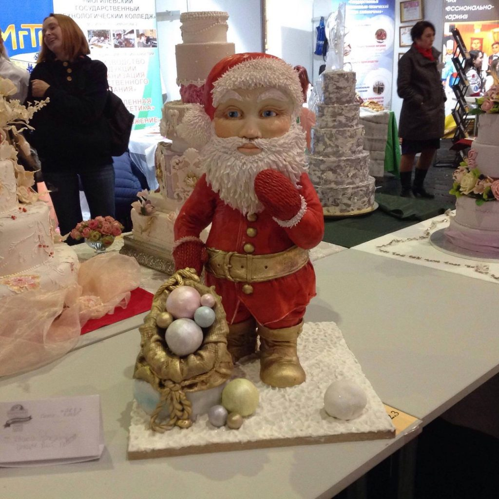 """Торт """"Дед Мороз"""""""