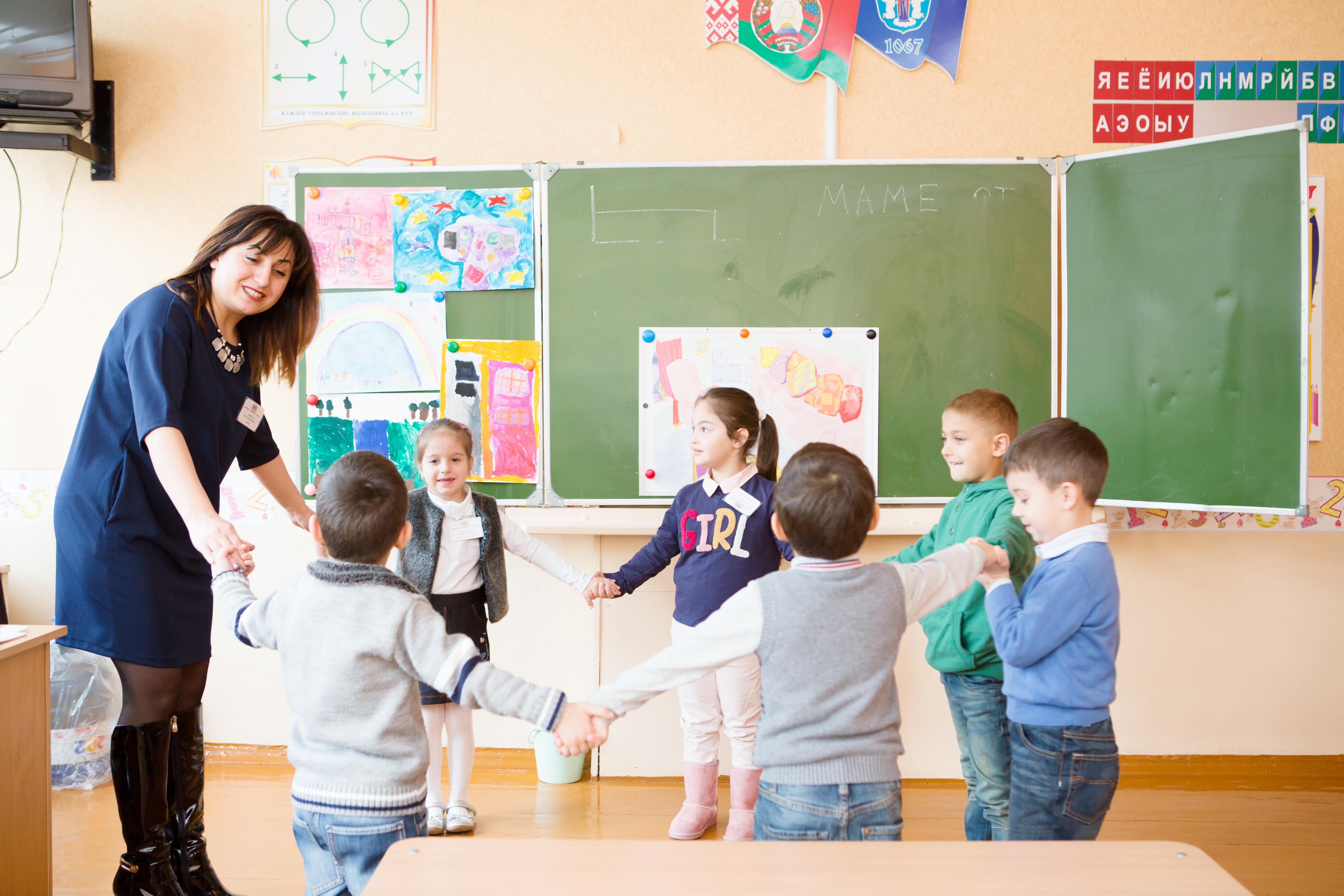 Диана Барсегян и ее ученики