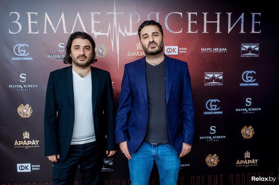 Режиссер фильма Сарик Андреасян (слева) и продюсер Гевонд Андреасян