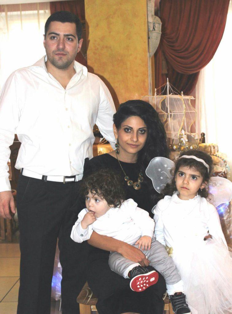 Армянская семья Зорика и Лилит