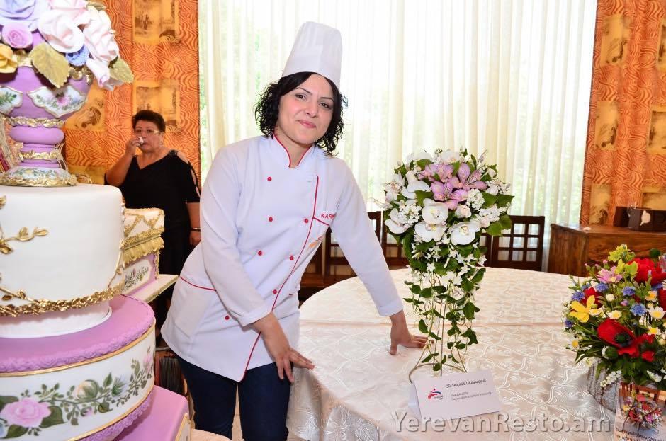 Карине Мхитарян и её работа