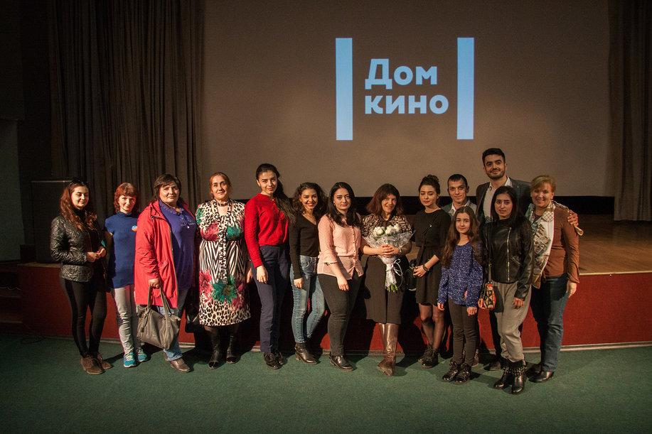 После показа в Доме кино в Красноярске, 2018 г.