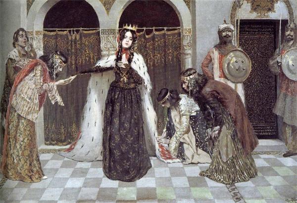 «Возвращение царицы Забел на трон» (1909 г.)