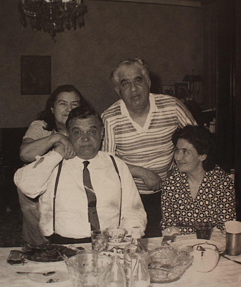 Дома у Арама Хачатуряна с В. Кухарским, 1978 г.