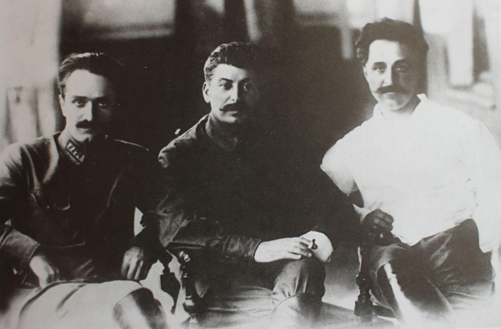 Микоян, Сталин, Орджоникидзе, 30-е годы