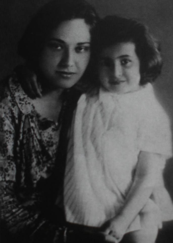 Нами с мамой, 1932 г.