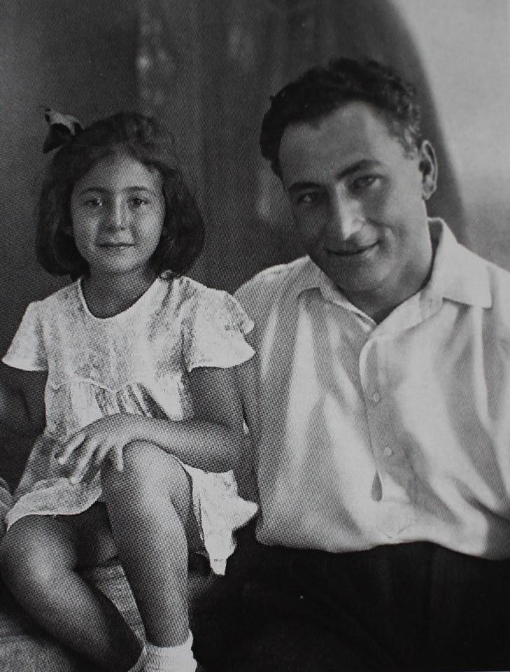 Нами с Г. Арутиновым, 1933 г.