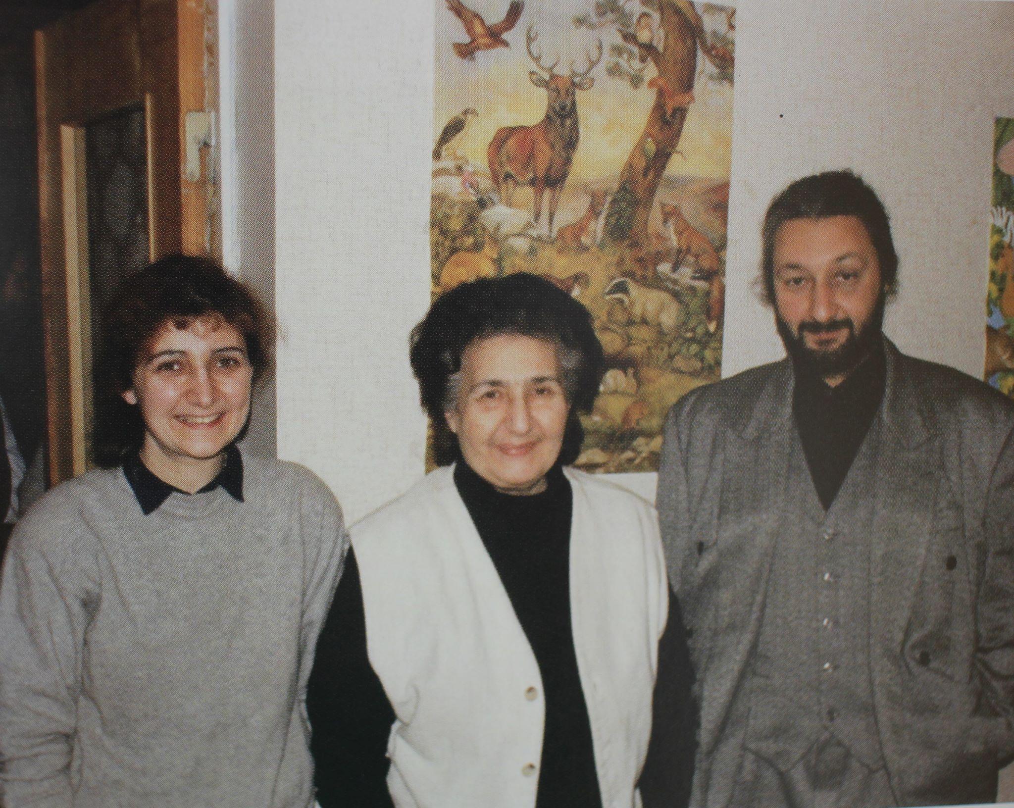 С Ниной и Стасом, 1995 г.