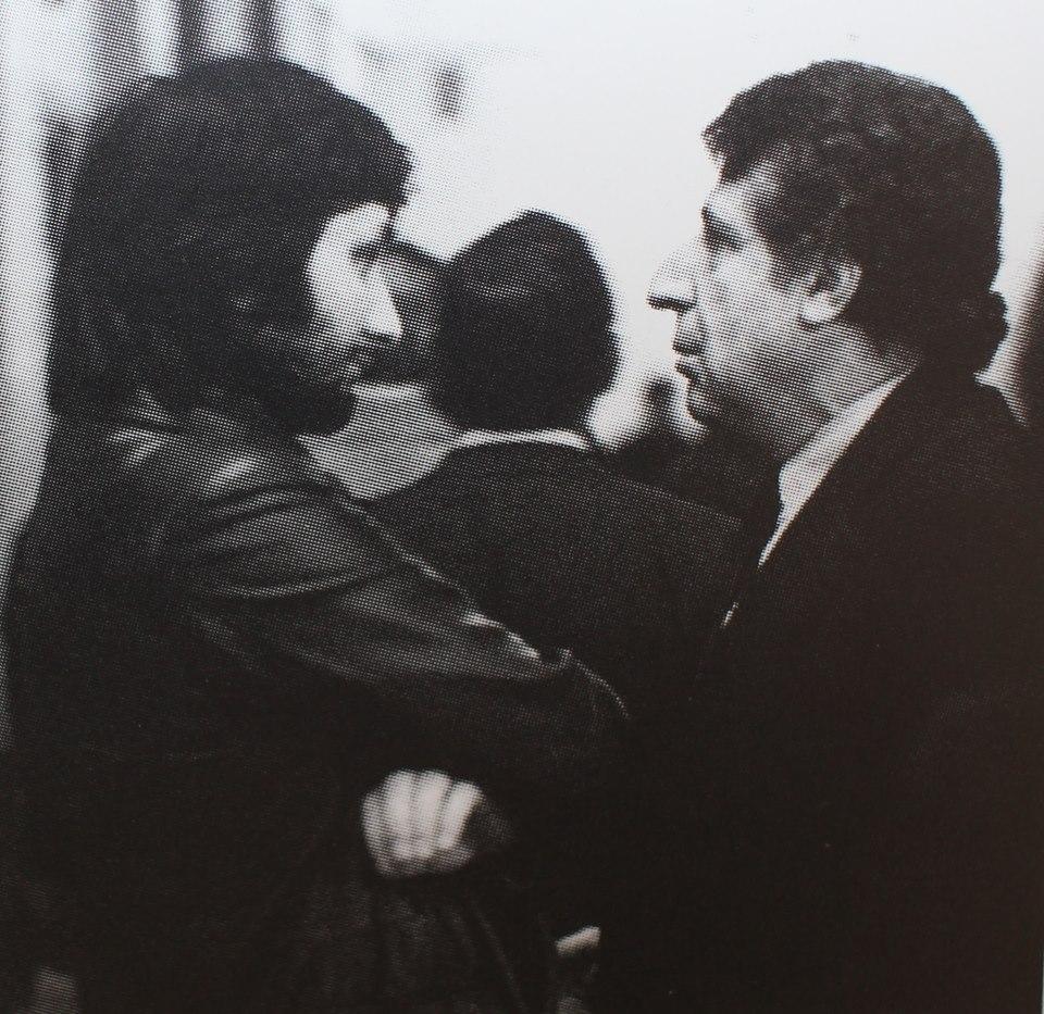 Стас с А.Бабаджаняном, 1978 г.
