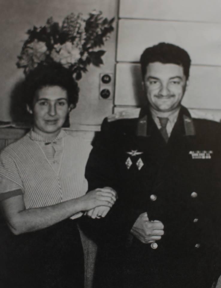 С Алексеем Микояном, 1956 г.